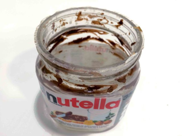 Nutellaglas